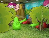 Render Jardín Infantil para la Universidad de Caldas.