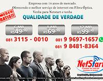 Flyers empresa Netstart