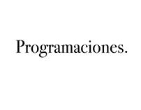 Programaciones y cronogramas