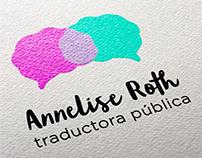 Identidad visual de Anne Roth Sworn Translator