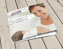 Breastfeeding room trifold