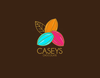 Caseys Chocolates - Brand Design