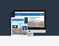 Web Colegio Moderno del Norte