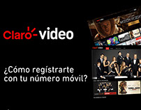 Video Tutorial para Claro Video - Motion Graphics