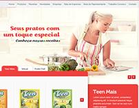 Lual Alimentos - Site