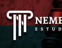 logotipo para estudio jurídico y diseños para facebook