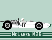 Bruce McLaren M2B Tribute wallpaper