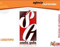 Logotipo e Fanpage Santa Gula Grill