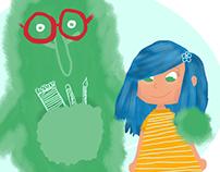 Creativity Monster - Children's Illustration