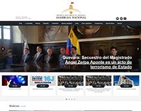 Página Web - www.asambleanacional.gob.ve