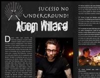 Interview with the drummer Atom Willard.