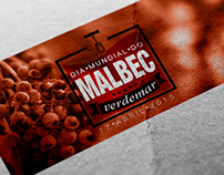Graphic Identity - Malbec World Day Client: Verdemar