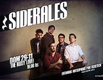 Flyers digitales - Formato The Roxy Live - Redes