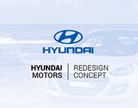 Website Redesign Concept - Hyundai CAOA