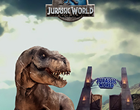Pieza gráfica para la marca Jurassic World - Colombia