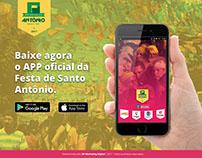Landing page | App Festa de Santo Antônio 2017