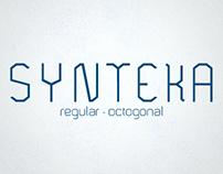 Synteka Free Font