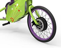3ciclos Triciclo adaptable eléctrico Prototipo