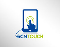 Desarrollo de Logotipo para BCN Touch España