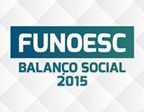 Revista Balanço Social 2015 | Funoesc