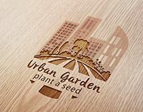 """Diseño de isotipo para  Urban Garden """"Plant a send"""""""