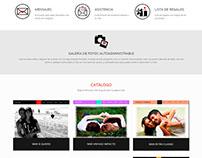 Diseño web para proyecto personal