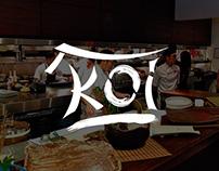 Diseño de Logotipo para restaurant de comida japonesa