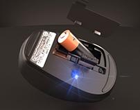 Mouse inalámbrico 3500 Microsoft