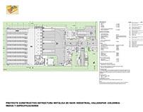 Proyecto Nave Industrial Estructura Metálica Singular