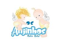 Logo Os Anjinhos - Moda Bebê.