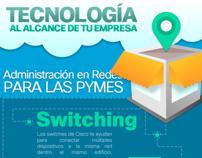 Infographic - Administración de Redes para las PyMEs '