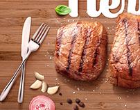 Campaña Coma carne de la Buena