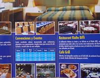 """Tríptico corporativo """"Hotel President"""""""