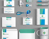 Diseño de logotipo e imagen corporativa Web y Redes