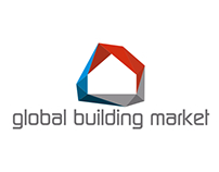 Global Building Market Logo Design