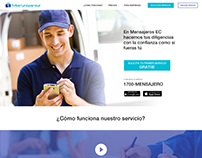 Mensajeros - web new design