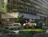 Post Apocalyptic Scene - Mattepainting