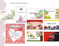 Tarjetas personales o de presentación para niños.
