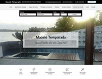 Maceió Temporada - Web Site