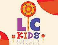 Logo - LC Kids - Buffet Infantil