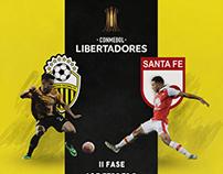 Matchday Design | Deportivo Táchira vs. Santa Fe
