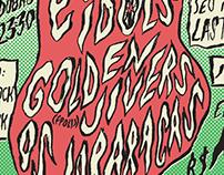 Cartaz Evil Idols em Blumenau