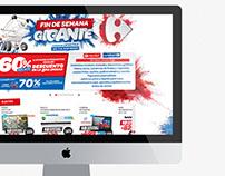 Fin de Semana Gigante - Web