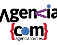 Diseño de logotipo para Agencia Com