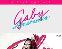 Projeto de mídias sociais - Gaby Amarantos