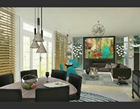 Diseño de Interiores (varios bosquejos)