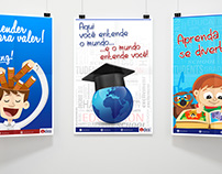 Cartazes IDEA Cursos e Idiomas