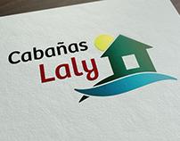 Cabañas Laly - Diseño de Logotipo de Marca -