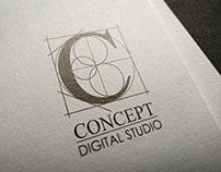 Concept Digital Studio - Identity Design