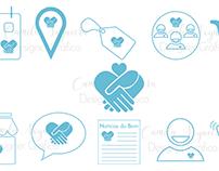 Desing de ícones para aplicativo